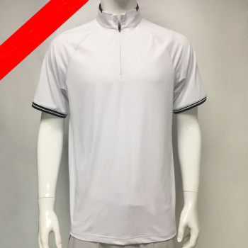 New style standing collar sport and breathable custom acceptable golf wear