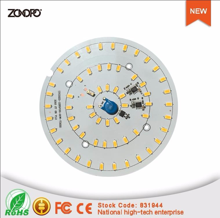 20w square light led module 3000k 4000k 6000k without driver