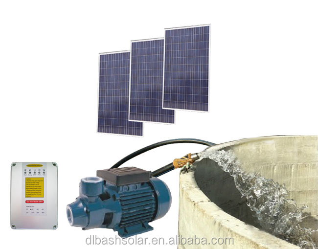 Agricultural irrigation solar water pump