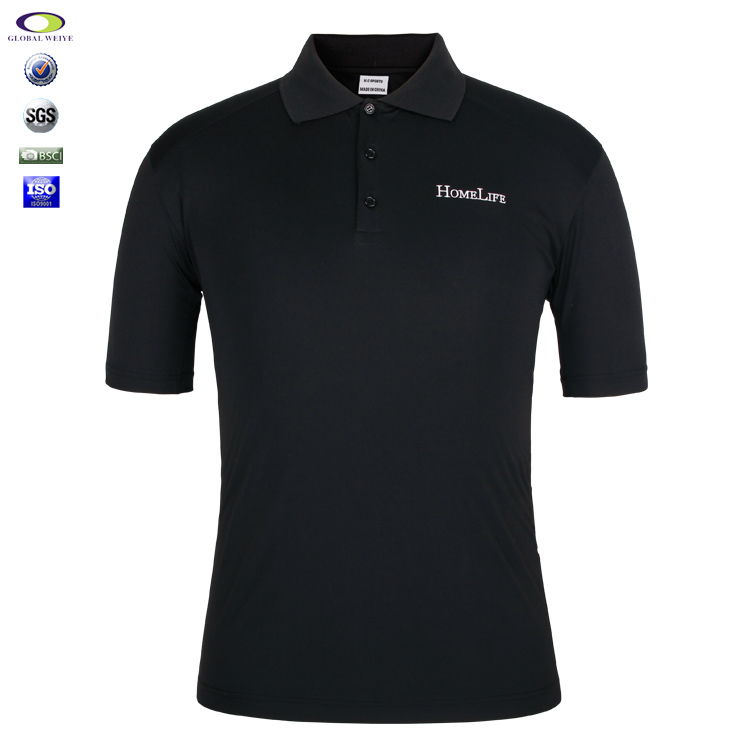 Oem Embroidery China Factory Fitted Polo Shirts Wholesale