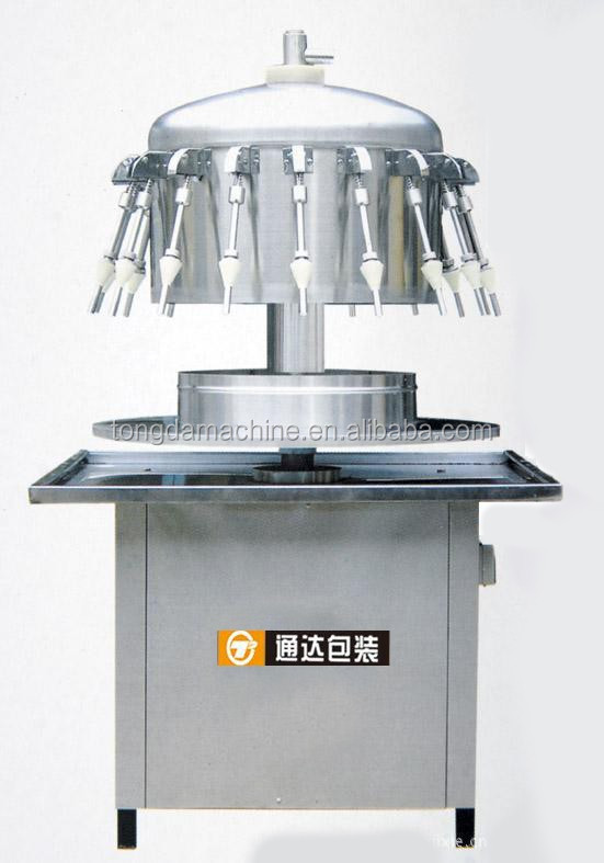beverage/wine/alcohol semi automatic bottle filling machine