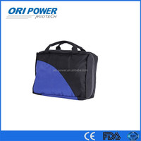OP manufacturer CE ISO FDA approvedred and black nylon travel outdoor road trip hanbag emergency first aid kit