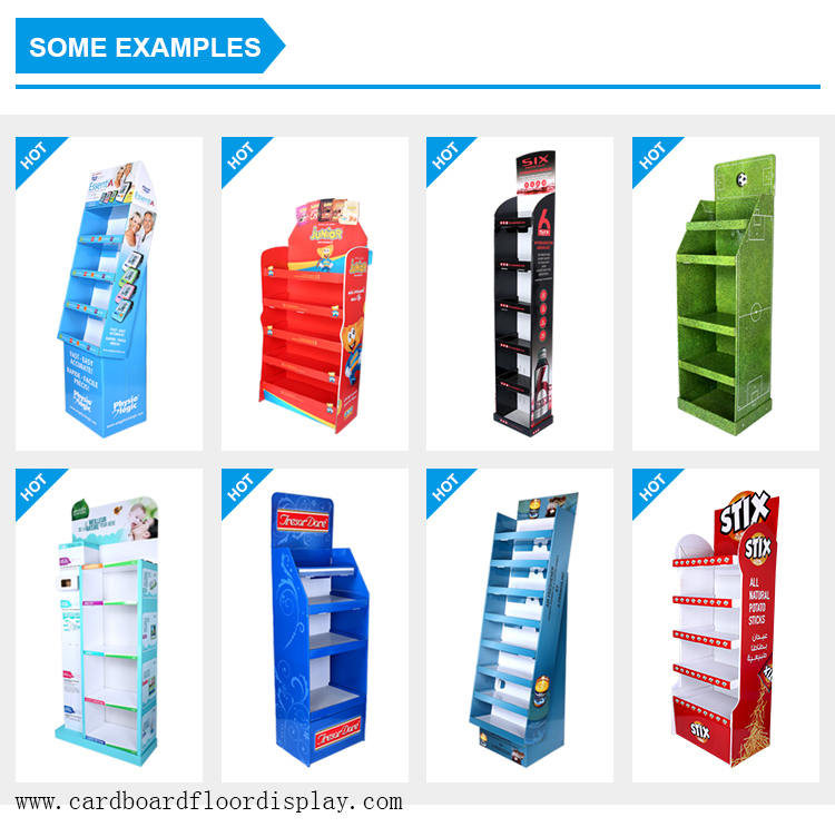 carton flooring box nail totem stand display