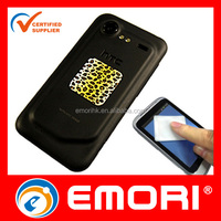2016 hot selling reusable adhesive microfiber cell phone cleaner