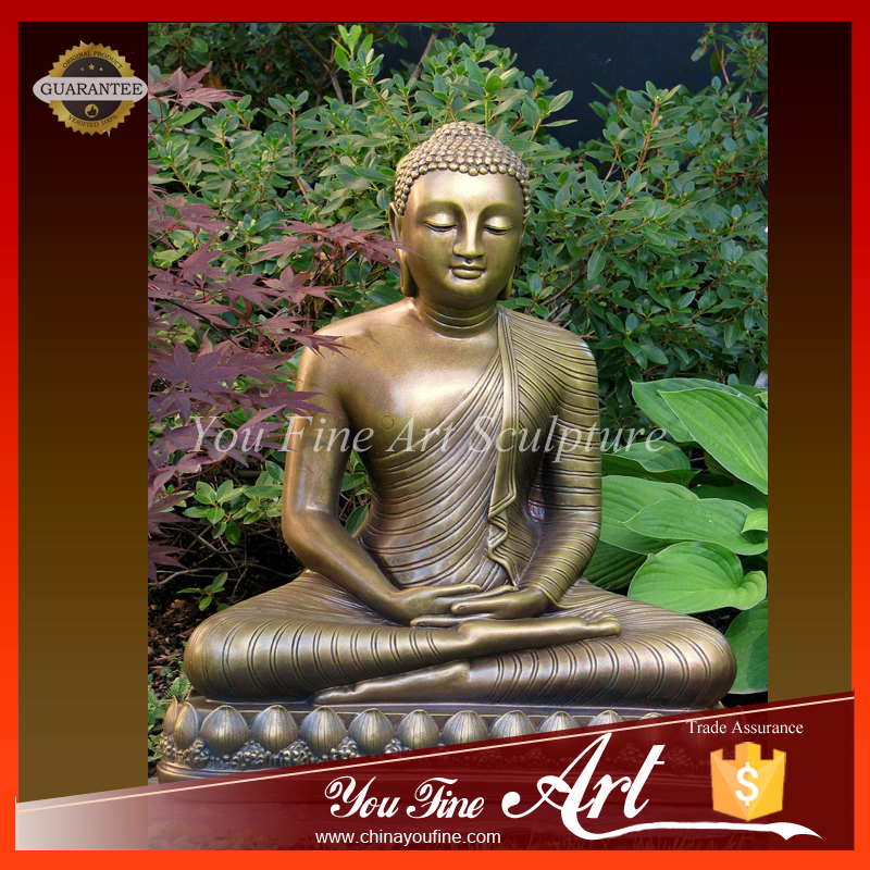 Cast Antique Bronze Buddha Statue for Sale