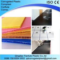 pp corrugated floor protection fire retardant sheet board