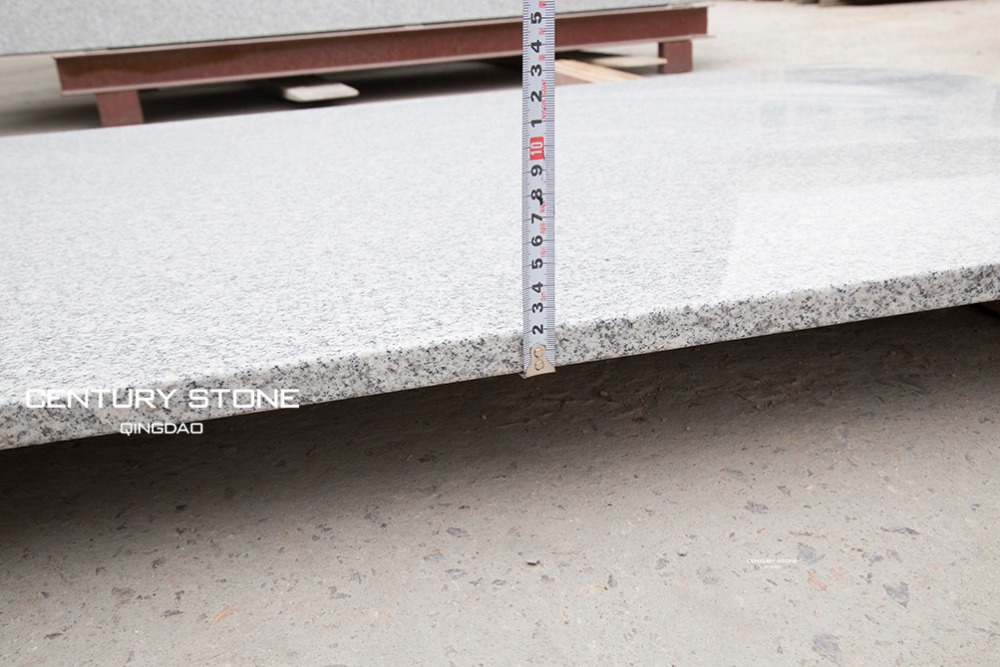 High quality white granite big slab for sale size for for Granite slab dimensions
