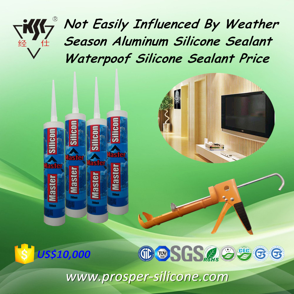 Best Price Waterpoof And Weatherproof Silicone Sealant For Aluminum Glass