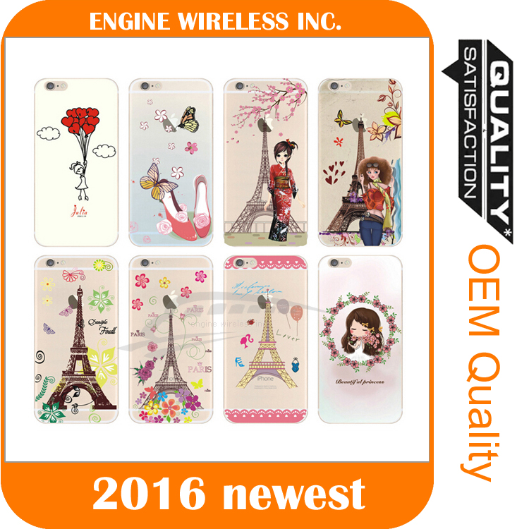 Printing Soft Gel Case Cover Skin cell phone case for iphone 5s case