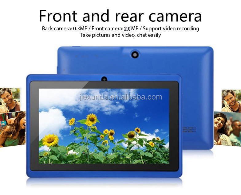 "7"" inch android quad core tablet pc multi fuction for work,playing and education tablet pc"