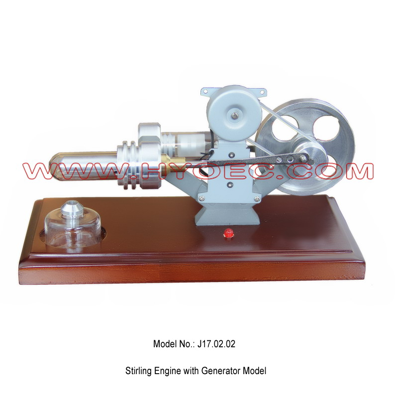 Stirling Engine with Generator Model-J17.02.02
