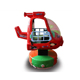 Kiddie helicopter rides in coin operated swing plane game machine