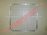 stainless barbecue grill wire mesh