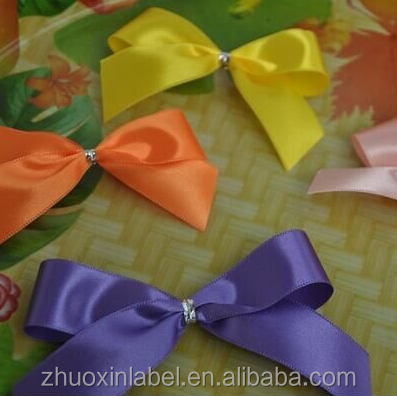 good quality blank color embossed edge satin ribbon for bows