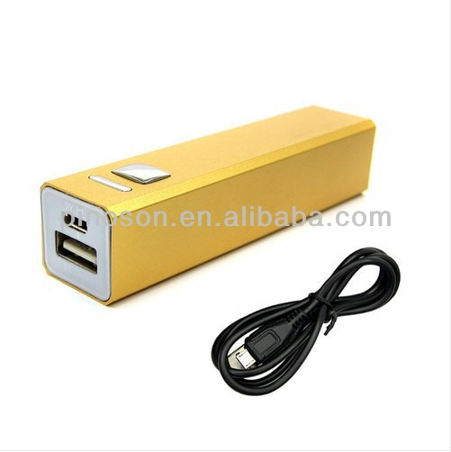 2014 new 2600mAh portable power bank