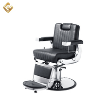 Classic hair salon reclining barber styling chair