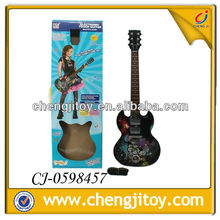 2014 arriving item plastic shine touch bass guitar