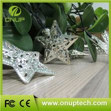 Copper Wires Solar Energy Christmas party favor led light string--free sample is available