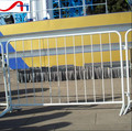 Galvanized used crowd control barriers/cross feet barricade