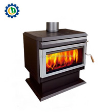 Wood Burning Fireplace Insert Pellet Heating Stove for Home Indoor Use