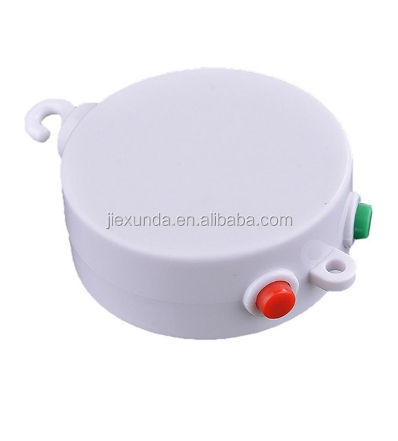 Best Sale Baby Mobile Crib Bed Bell Electric Autorotation Music White Box 12 Melodies Song