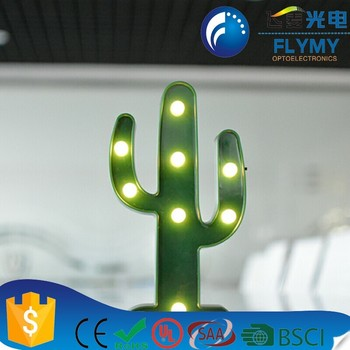 Christmas thanksgiving holiday small cactus light for sale cool cactus plants marquee light
