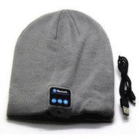 Hot sale wireless bluetooth headphone beanie hat winter hat with bluetooth headphone bluetooth speaker hat