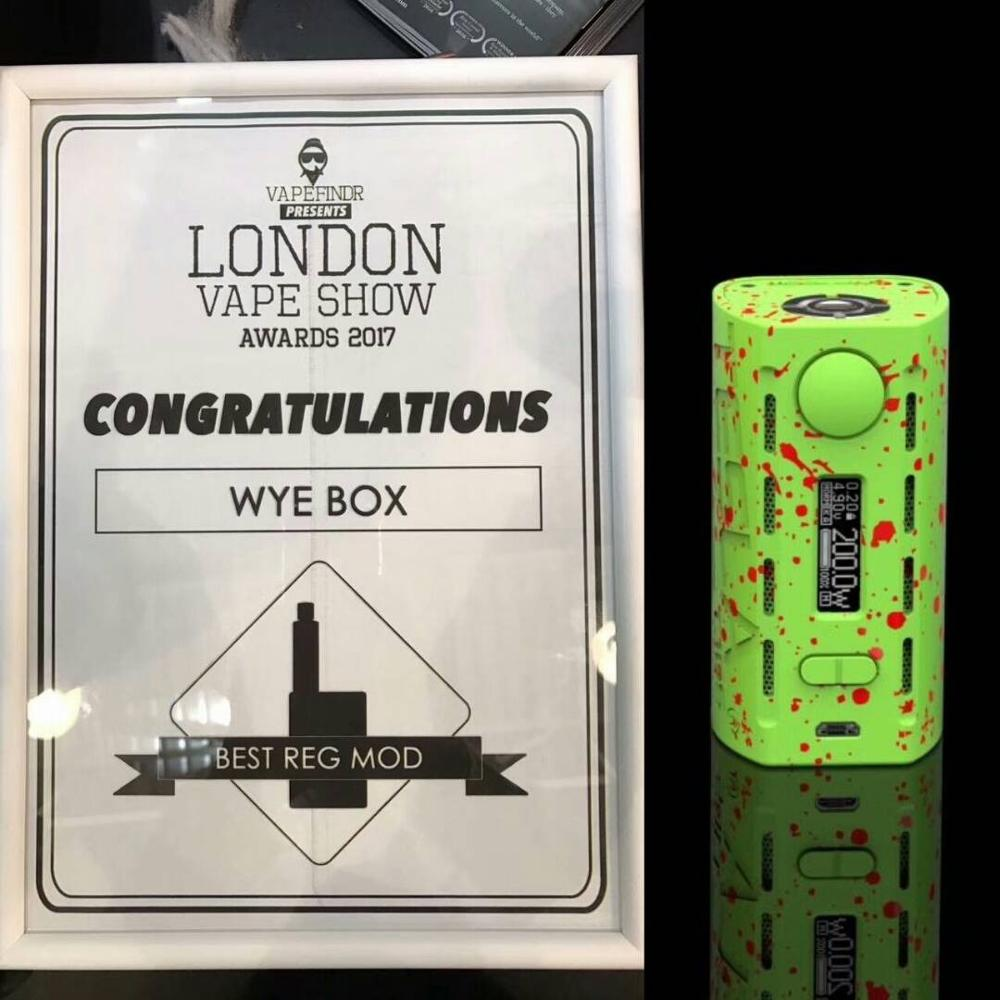 The newest vape mod Tesla WYE 200w with ABS+PC Material hot sells