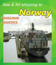 bulk cargo shipping companies to Oslo/Sarpsborg of Norway from Xiamen Fuzhou