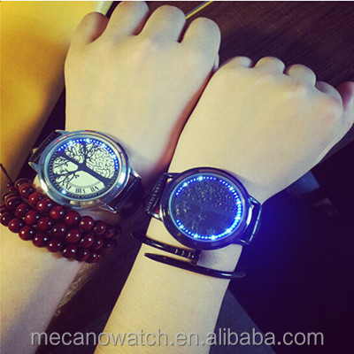 Visible Movt Quartz Watch Smart Lover Watch For Girls Boys Led South Korea Watches