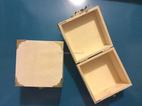 Customize food container wooden dice packaging box