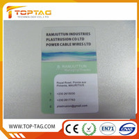 CR80 Glossy Blank Clear PVC Card/Plastic Transparent Card for Thermal Printing