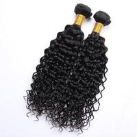 Hot Selling Grade 7a virgin indian naturally water curly weave hair