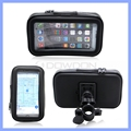 Motorcycle Bike Handlebar Holder Mount Waterproof Bag Case for Cell Phone GPS