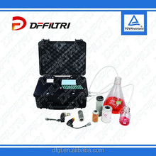 2015 HOT Portable Online Hydraulic Lubricating Oil Laser Particle Counter