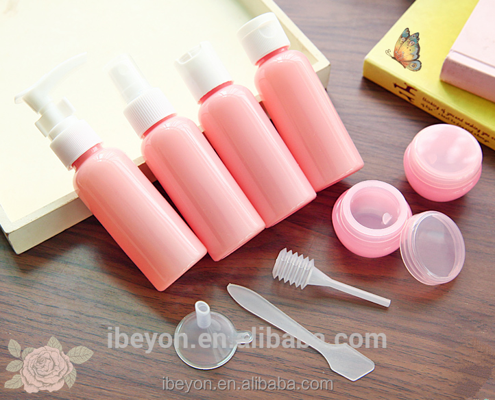 80ml plastic empty makeup kit for girl