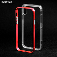 Bumper Case Mobile Phone Protect Metal Aluminium Case Cover for iphone 5 5s 6 6s 7 8 plus