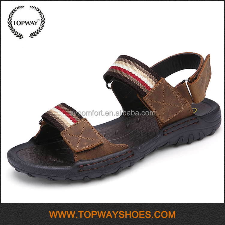 Wholesale online shopping stock beach men sandals for male