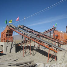 Widely used transport belt conveyor south africa for aggregate producion plant