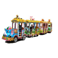 Factory price animal trackless train fiberglass train kids indoor train mall kids train