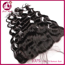 High quality natural color body wave Brazilian lace frontal closure 13x4 with baby hair from ear to ear lace clsure
