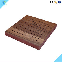 2017 Sound Absorber Acoustic Perforated Wood Slab