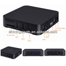 Android 4.0 XBMC Pre-installed Cortex A9 Rooted Hardware Decoding 3D 1080p Media Player Smart Tv Box