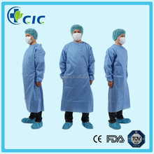 New model non-woven gown for hospital/clinic