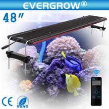 2016 EVERGROW New wirelless 6 channels Automatically led aquarium light
