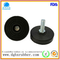 Anti-skidding/rubber feet/rubber pad/rubber screw for running machine/table/ladder/chair/furniture/bearing