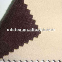 Poly Mock Suede( Moleskin) Bonded Fabric