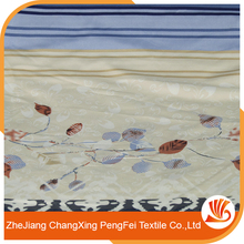 pengfei factory disperse printed polyester bed sheet fabric with 3D style