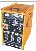 NBC 250B three phase 380V welding machines mig mag electrical welder machine