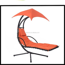 Garden Metal Hanging Helicopter Swing Chair With Canopy